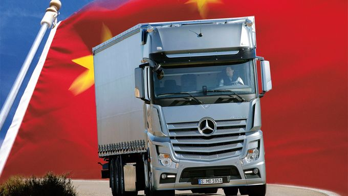 Actros, China, Daimler, Beteiligung, Staatsfonds