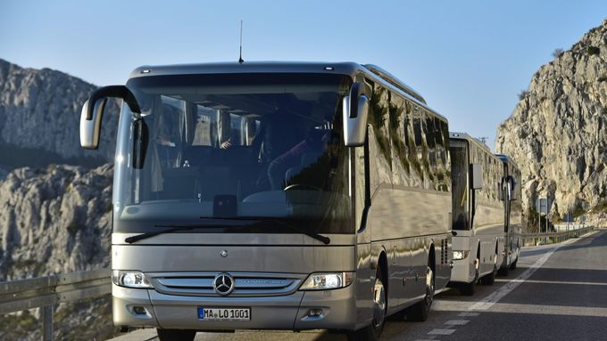 Alle Varianten des Mercedes Tourismo