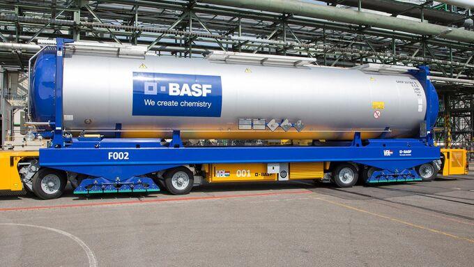 BASF optimiert Logistik am Standort Ludwigshafen / BASF optimizes logistics at Ludwigshafen site