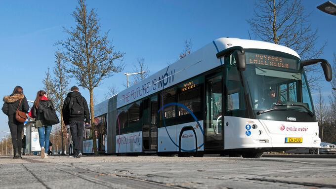 BRT-System Urevo, Fahrzeuge, ÖPNV