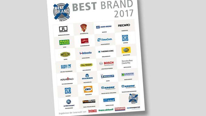 Best Brand 2017 Titel