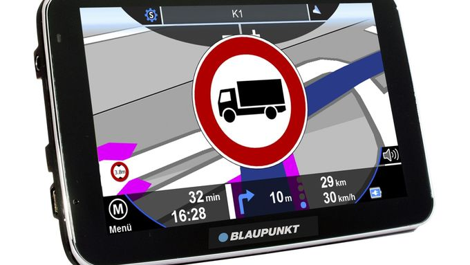 Blaupunkt Travelpoints, Navigationsgerät
