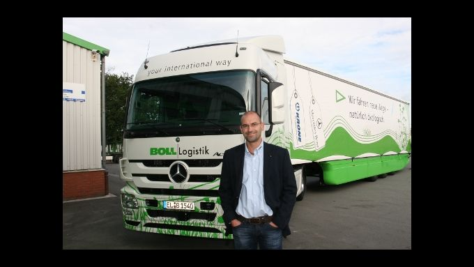 Bolls Öko-Truck gewinnt Umweltpreis