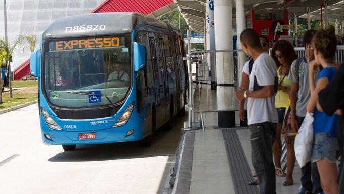 Bus-Rapid-System, BRT, Brasilien, Rio de Janeiro