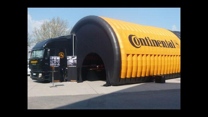 Continental startet Europatour