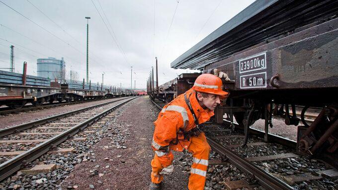 DB Cargo Schiene