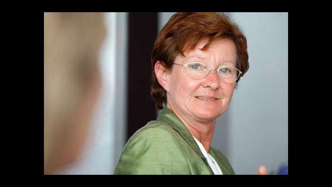 Dagmar Wäscher, Vorsitzende des BVT