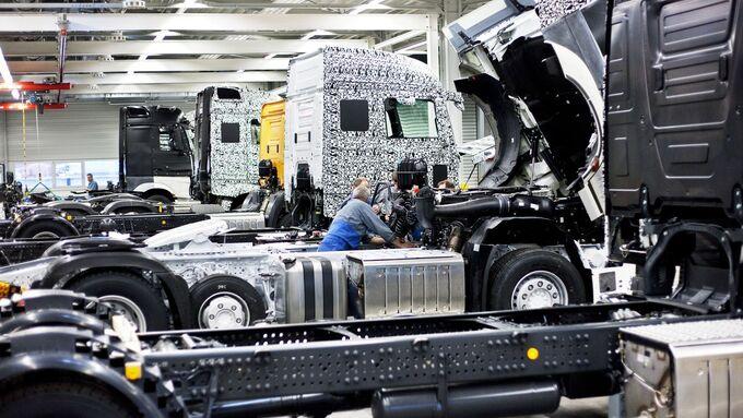 Daimler, Produktion