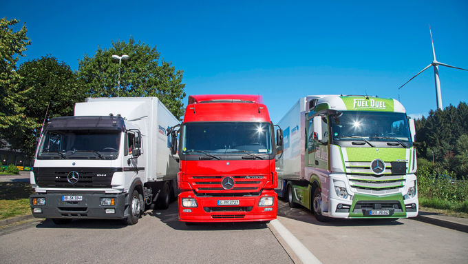 Daimler Verbrauchsvergleich
