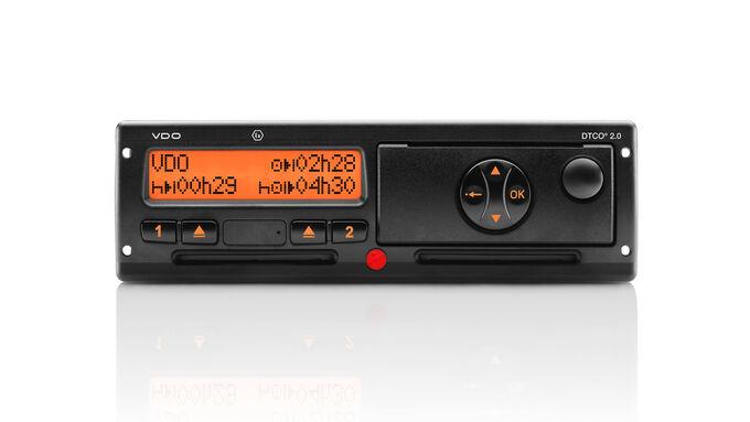 Der Digitale Tachograf DCTO 2.0