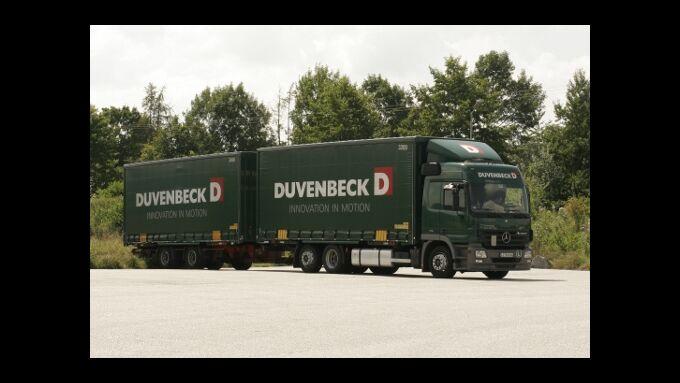 Duvenbeck stockt Fuhrpark auf