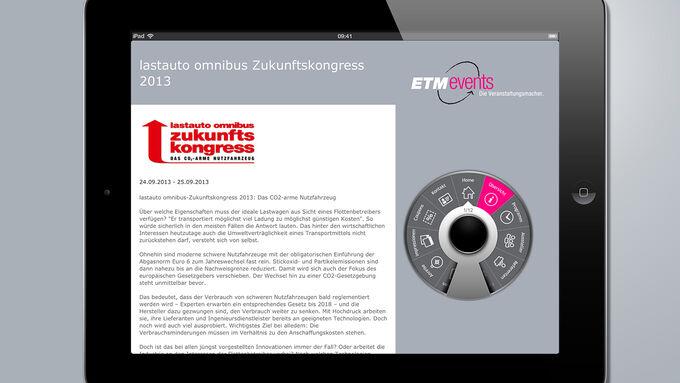 ETMevents App
