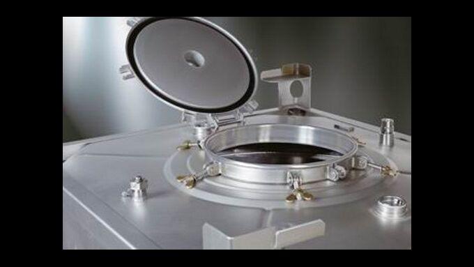 Edelstahl-Containter hält Güter auf Temperatur