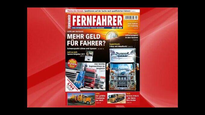 FERNFAHRER liegt für Sie bereit!