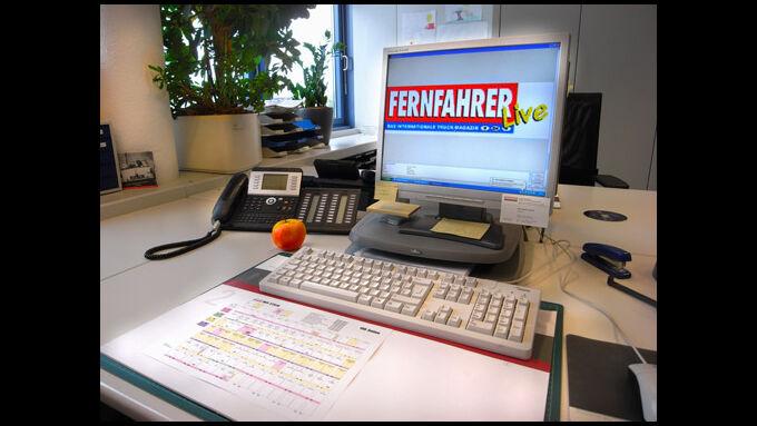 FERNFAHRER sucht Redaktionsassistent(in)