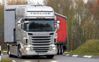 Fahrertest FERNFAHRER 01-2010, Scania R 480 Topline, Truck