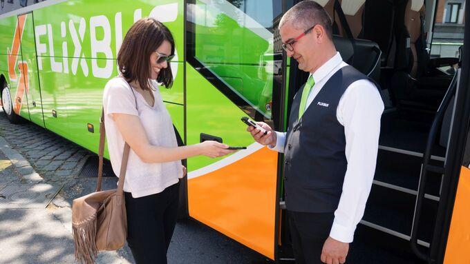 Flixbus, Fahrgäste, Kontrolle, Fernbus