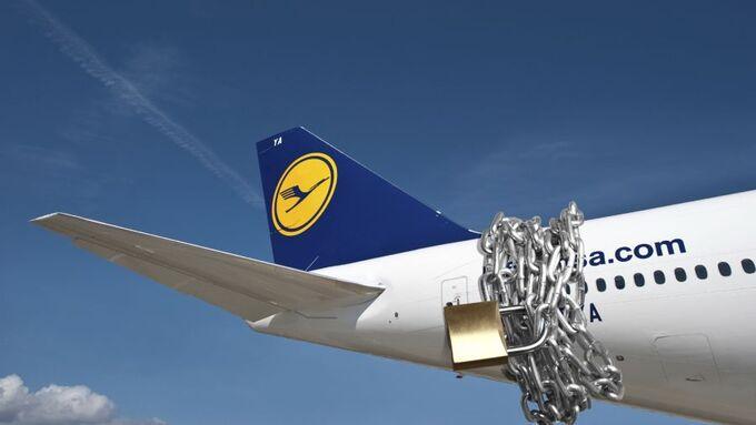 Flugzeug, Montage, Kette, Luftfrachtsicherheit