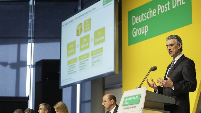 Frank Appel, Chef Deutsche Post