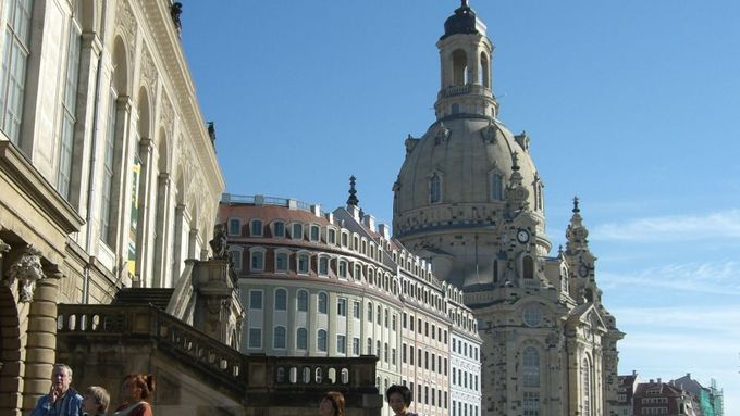 Frauenkirche, Dresden, Innenstadt