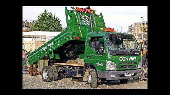 Fuso Canter fährt in Londoner Umweltzone