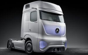 Future Truck Mercedes-Benz, Daimler