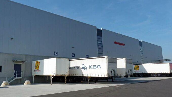 Geis, Logistikzentrum, Erlangen, 2011