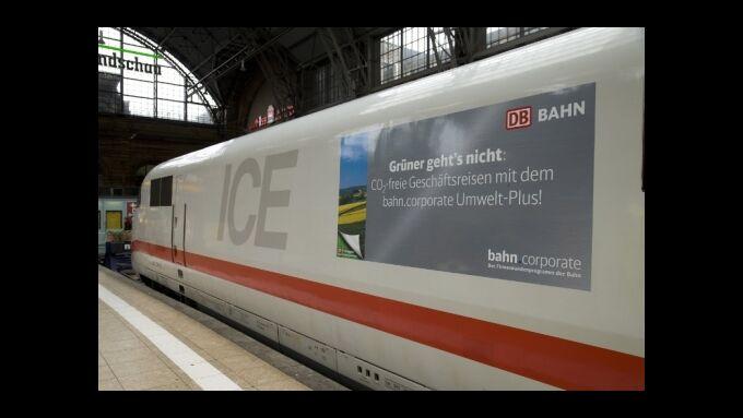 ICE im Hauptbahnhof Frankfurt/M.