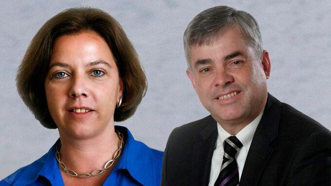 Jutta Knell, Hubert Valder, DSVL Geschäftsführer