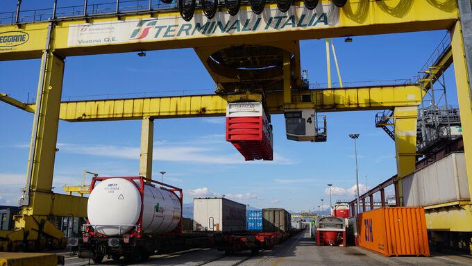 Kombiverkehr Italien