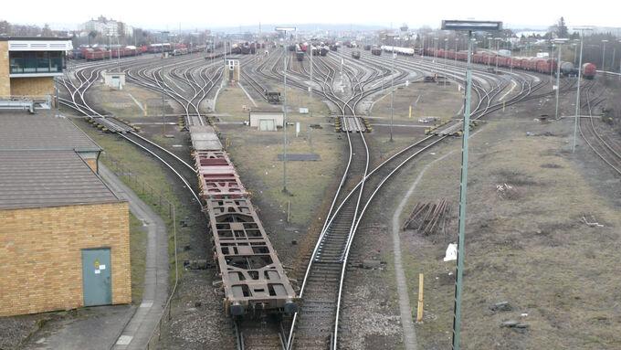 Kombiverkehrsterminal Kornwestheim