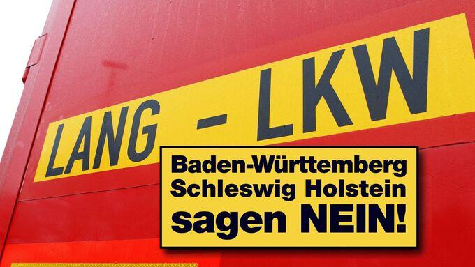 Lang-Lkw, Schleswig-Holstein