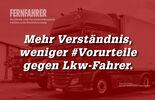 Lkw-Fahrer sehen sich viele Vorurteilen ausgesetzt…