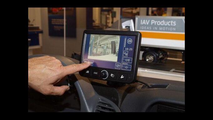 Lkw-Navigation mit TeleDrive