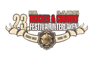 Logo des Internationales Trucker Country Festival Interlaken 2016