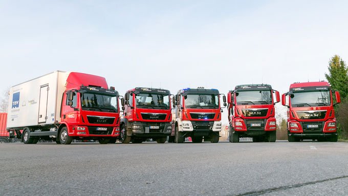 MAN Trucknology Days, Lkw