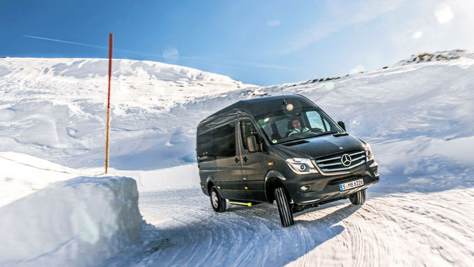 mercedes sprinter 316 cdi 4x4 arbeitstier mit allrad eurotransport. Black Bedroom Furniture Sets. Home Design Ideas