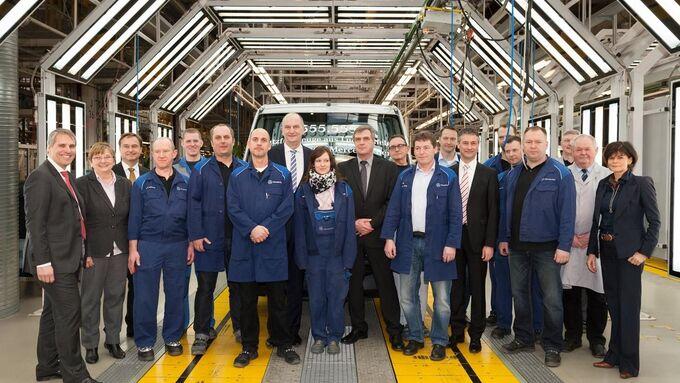 Mercedes-Werk, Ludwigsfelde, Produktionsjubiläum, Februar 2014