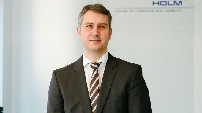 Michael Kadow, Geschäftsführer des Houses of Logistics and Mobility