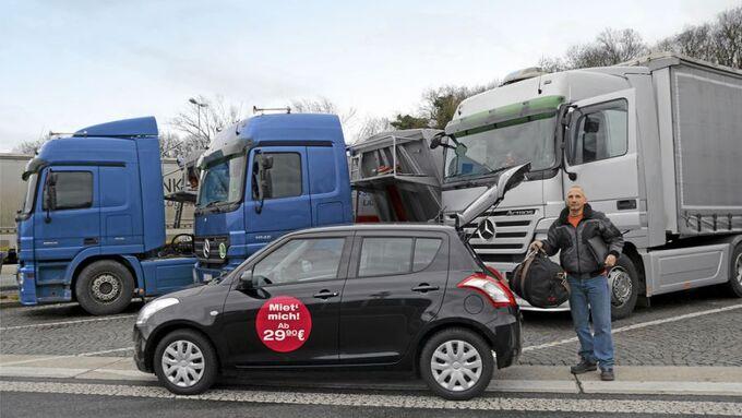 Mietwagen für Lkw-Fahrer