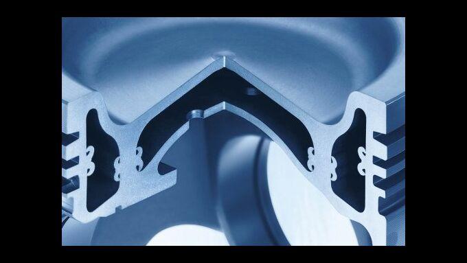 Monoblock-Stahlkolben von KS Kolbenschmidt