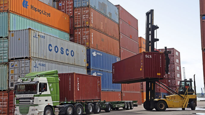 Multichassis für Container Fahrzeugbau JFT Trailer