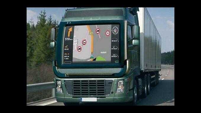 Navigationssystem für den Lkw-Einsatz