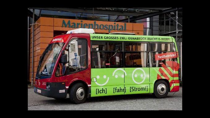 Osnabrück schickt Elektrobus auf Linie