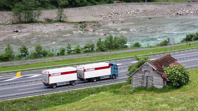 Planzer, Schweiz, Alptransit