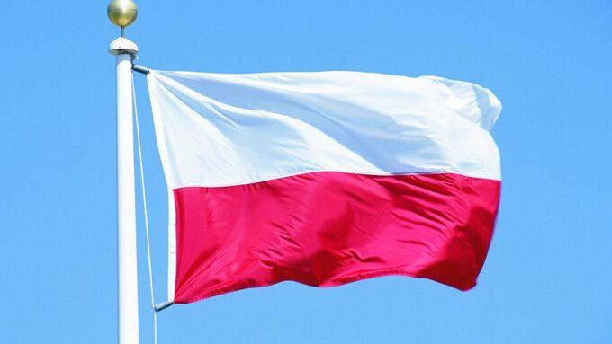 Polen, Nationalflagge, Nationalfahne