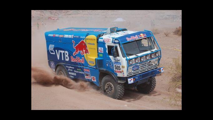 Rallye Dakar, 5. Etappe