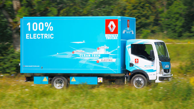 Renault Maxity Electric, Clean Tech