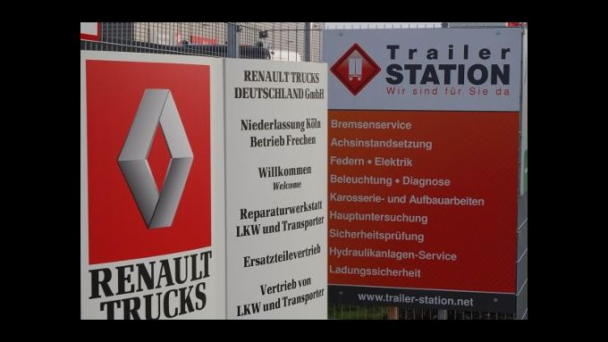 Renault Trucks ist Partner von Trailer Station