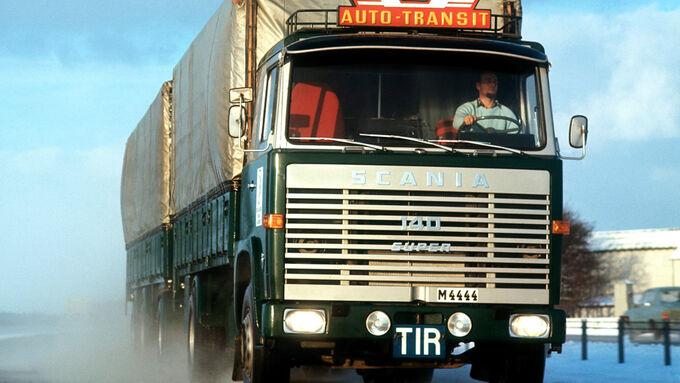 Scania, Auto, Transit